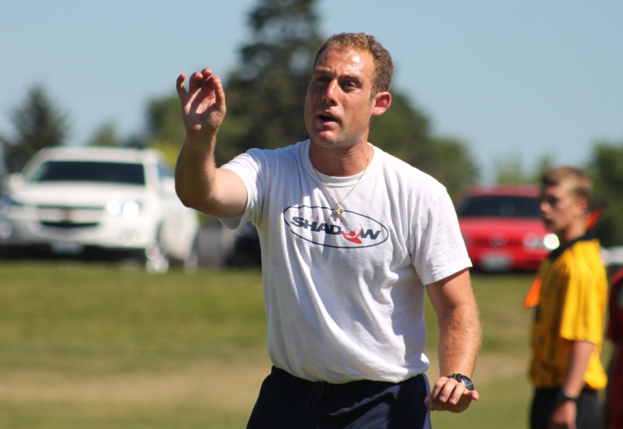 Niko Varlamos has been named assistant coach of the Evergreen Premier League's Spokane Shadow Men. (INWsoccerNews.com photo)