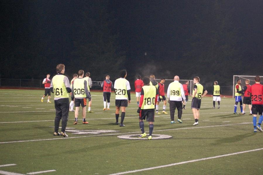 WestSound FC 2014 open tryouts. (Madi Williamson, www.Soccer-Boss.net)