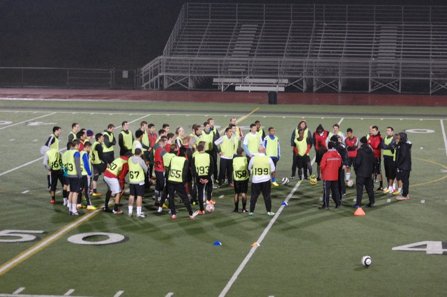 WestSound FC 2014 open tryouts. (Madi Williamson, www.Soccer-Boss.net)