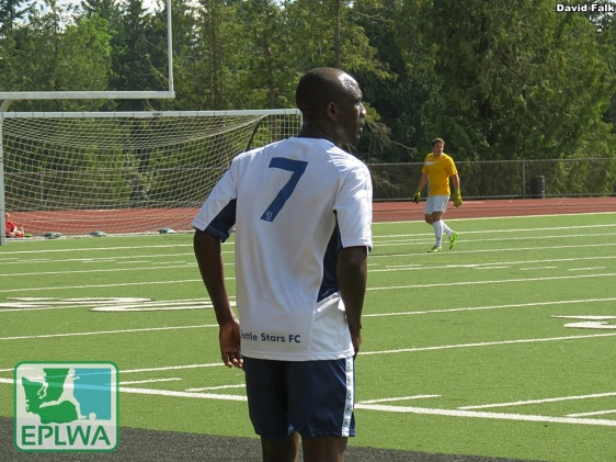 Buba Findi Jammeh scored on Saturday and Sunday for Seattle but the Stars dropped both matches. (David Falk)