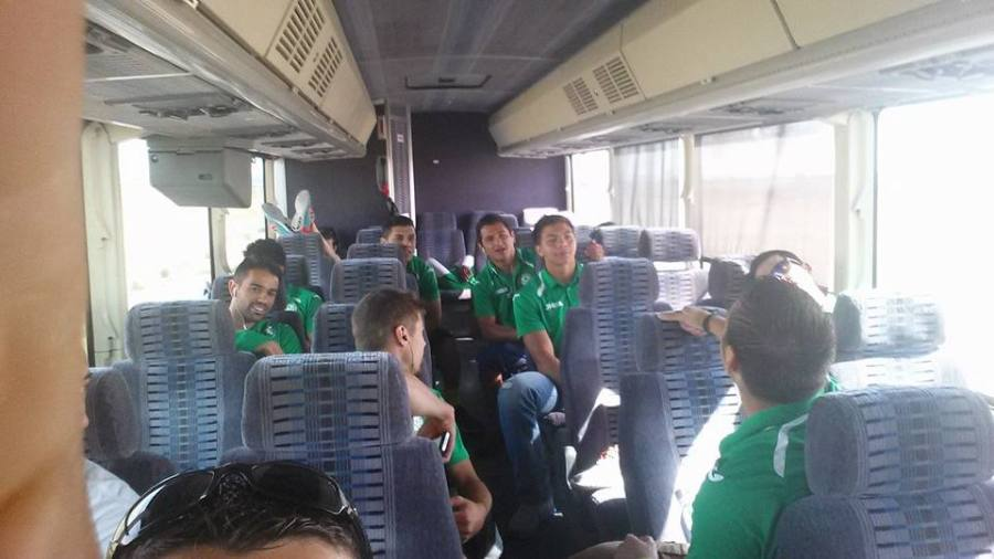 Wenatchee United shared this bus trip photo on social media as they headed south to Yakima.