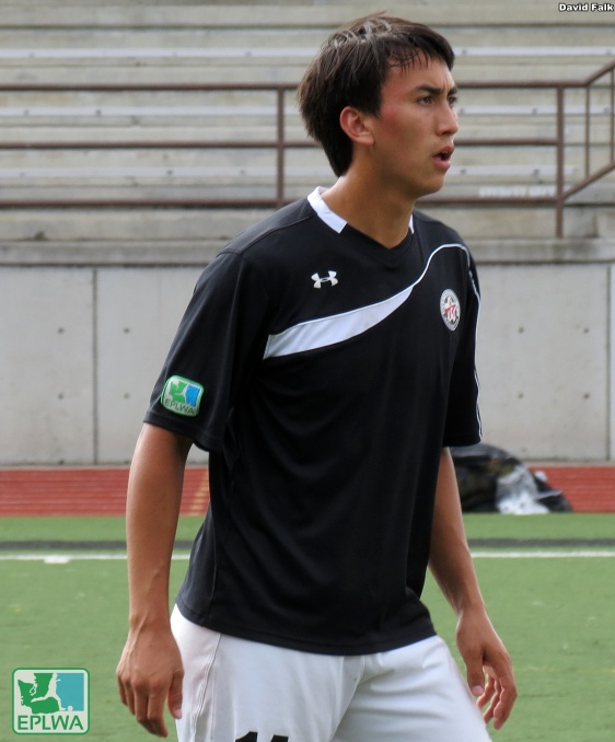 Izzy Deluna scored three goals for WestSound last weekend. (David Falk)