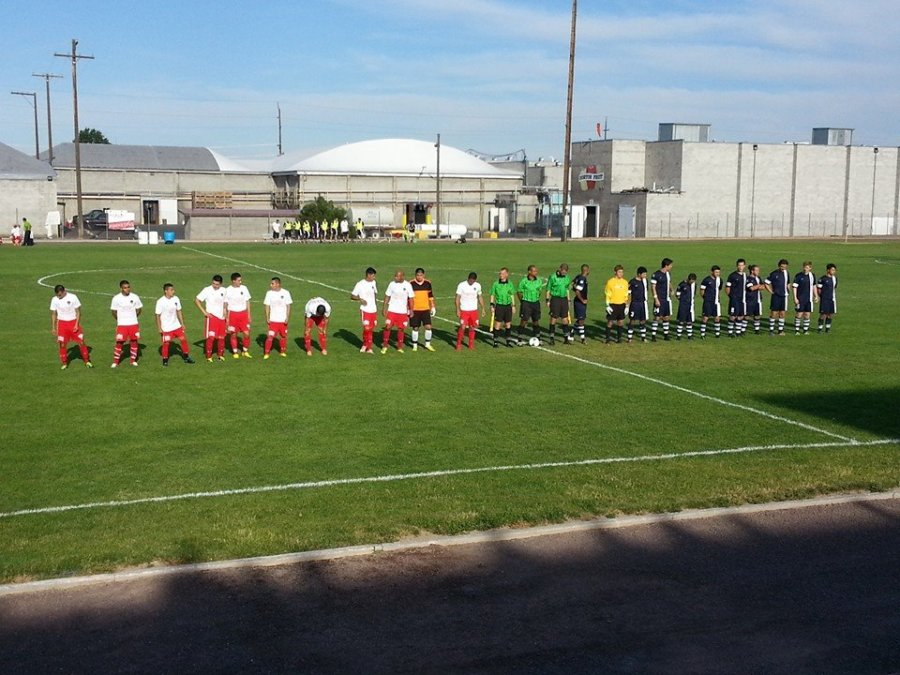 Players announced in the bright sun of the early evening Friday in Yakima. (Facebook)