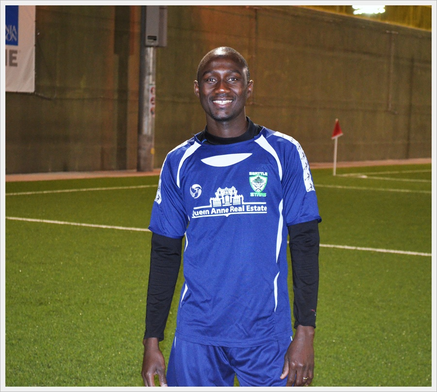 Buba Findi Jammeh wants to raise his game in 2015 with Seattle Stars FC.