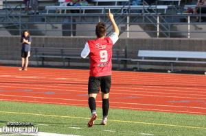 JJ Schmeck scores in the 17th minute to bring South Sound level.