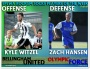 Witzel (Hammers), Hansen (Force) are July 12 EPLWA Rock'em Socks Players ofWeek