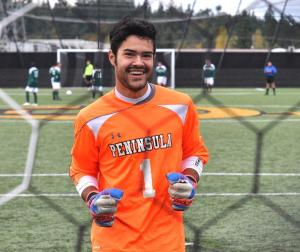 Guilherme Atanes played for Peninsula College in Port Angeles before signing with the Kitsap Pumas and then being loaned to the Olympic Force.